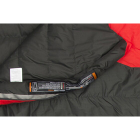Mammut Nordic Down Spring Sleeping Bag 180cm graphite-fire